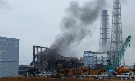 The Fuchushima nuclear plant